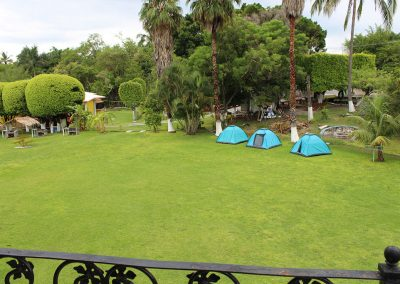 Gran zona de acampado